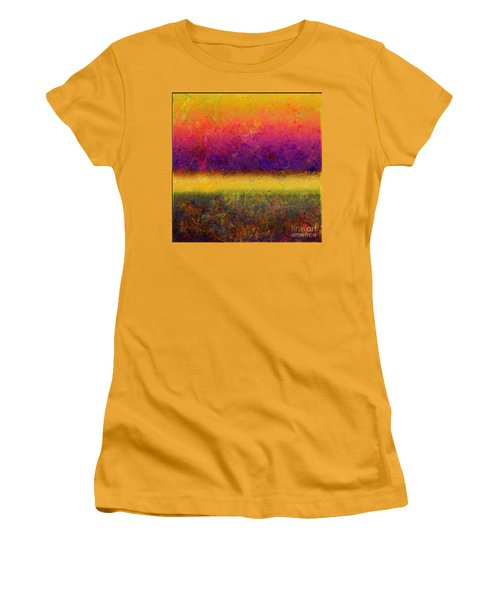 1395 Abstract Thought Women's T-Shirt (Athletic Fit)