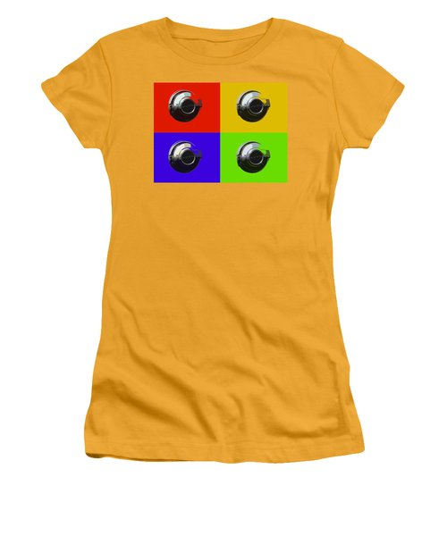 Fuel Cap In Bold Color Women's T-Shirt (Athletic Fit)