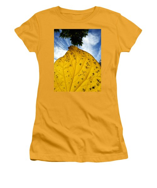 A Touch Of God Women's T-Shirt (Junior Cut) by Lon Casler Bixby