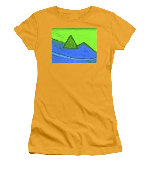 Abstract 92-001 Women's T-Shirt (Athletic Fit)