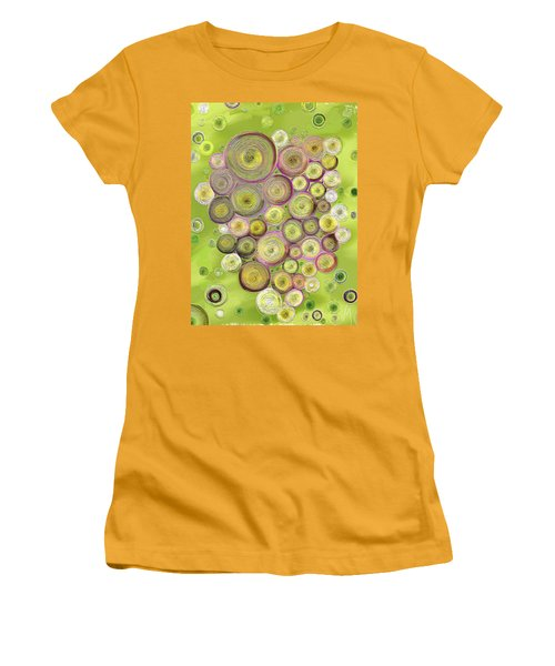 Abstract Grapes Women's T-Shirt (Junior Cut) by Veronica Minozzi
