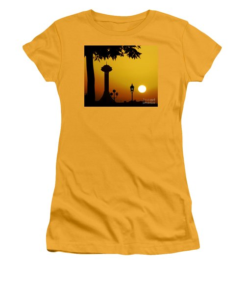 Women's T-Shirt (Junior Cut) featuring the photograph Abu Dhabi by Andrea Anderegg