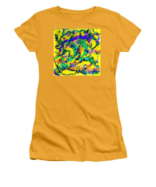 Alien Dna Women's T-Shirt (Junior Cut) by Alec Drake