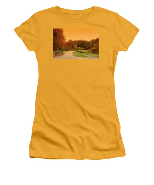 Autumn In The Park - Holmdel Park Women's T-Shirt (Athletic Fit)