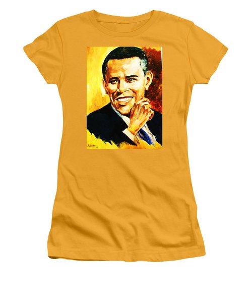 Barack Obama Women's T-Shirt (Athletic Fit)