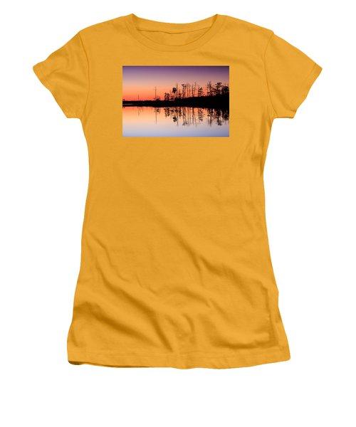 Blackwater Reflections Women's T-Shirt (Junior Cut)