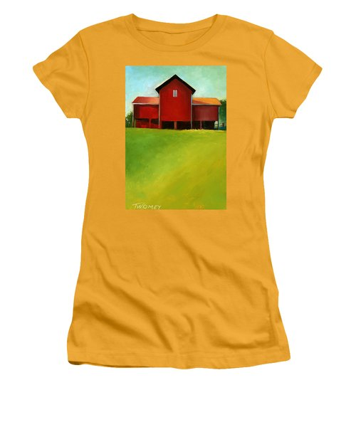 Bleak House Barn 2 Women's T-Shirt (Junior Cut) by Catherine Twomey