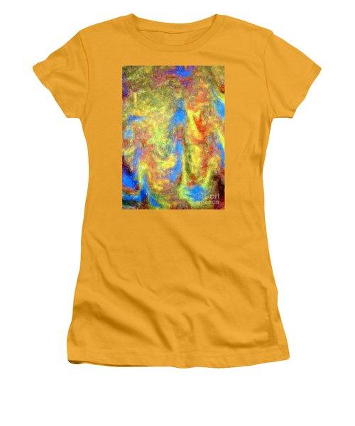 Blue Ascension Women's T-Shirt (Junior Cut) by Barbie Corbett-Newmin