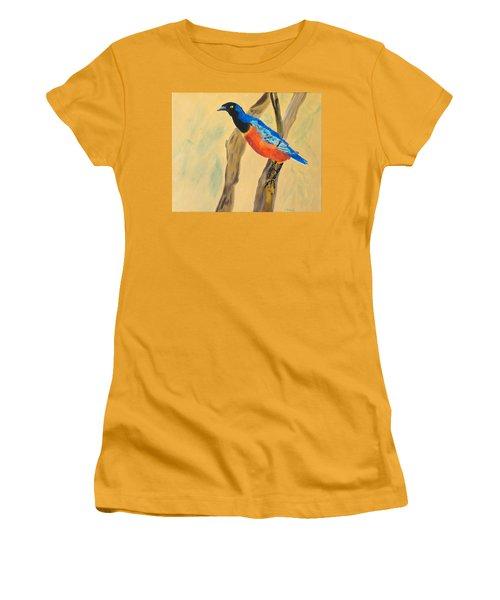 Hawaiian Blues Women's T-Shirt (Junior Cut) by Meryl Goudey