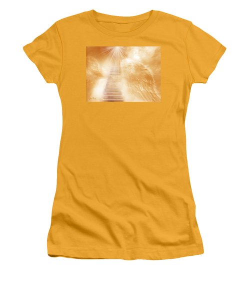 Brush Of Angels Wings Women's T-Shirt (Athletic Fit)