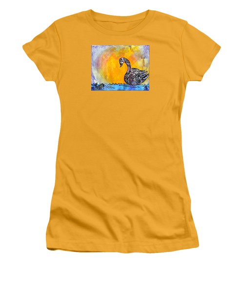Calming Waters Women's T-Shirt (Athletic Fit)