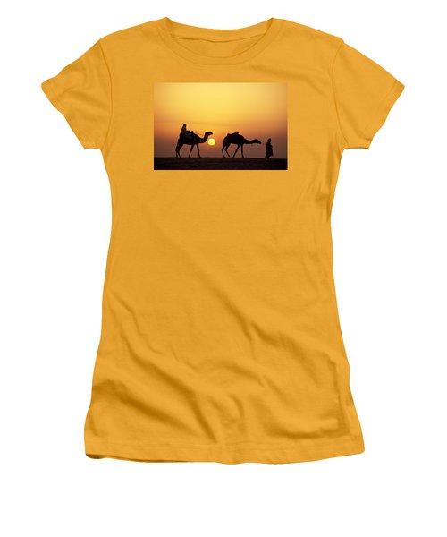 Caravan Morocco Women's T-Shirt (Athletic Fit)