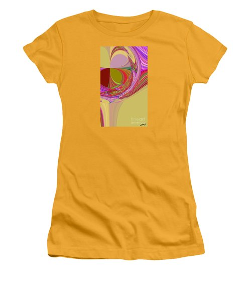 Color Symphony Women's T-Shirt (Junior Cut) by Loredana Messina
