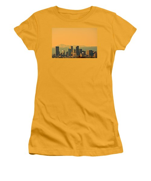 Denver Skyline Women's T-Shirt (Athletic Fit)