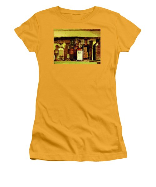 Women's T-Shirt (Junior Cut) featuring the photograph Doctor - Syrup Of Ipecac by Susan Savad
