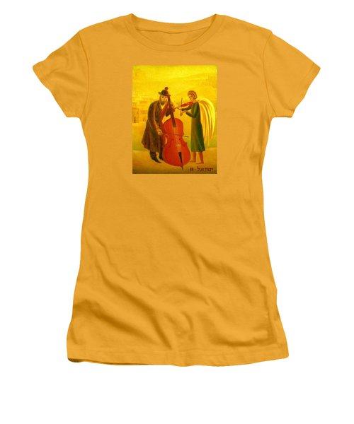 Duet Women's T-Shirt (Athletic Fit)