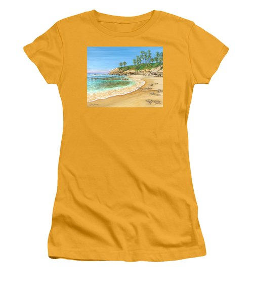 Early Morning Laguna Women's T-Shirt (Athletic Fit)