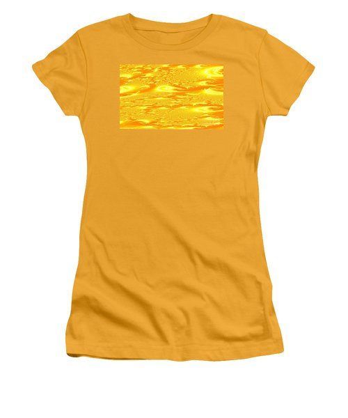 Hot Energy Women's T-Shirt (Athletic Fit)