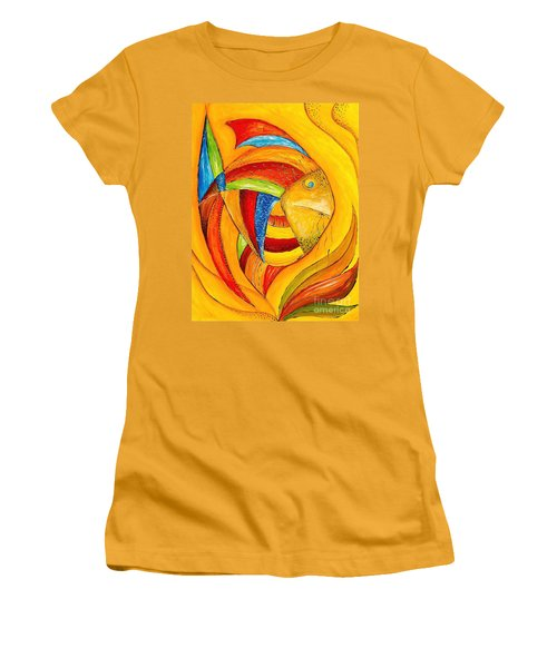 Fish 428-08-13 Marucii Women's T-Shirt (Athletic Fit)