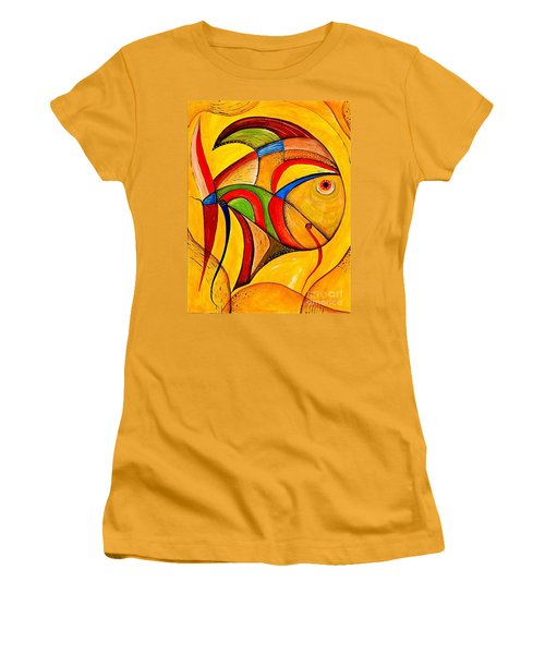 Fish 534-11-13 Marucii Women's T-Shirt (Athletic Fit)