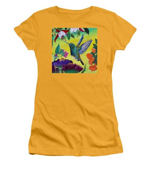 Follow Me Women's T-Shirt (Athletic Fit)