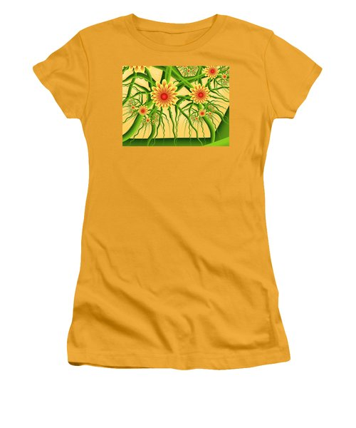 Fractal Summer Pleasures Women's T-Shirt (Athletic Fit)