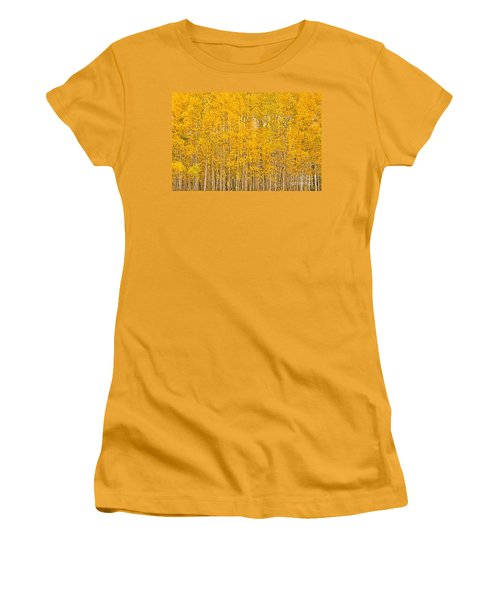 Fullness Of Gold Women's T-Shirt (Athletic Fit)