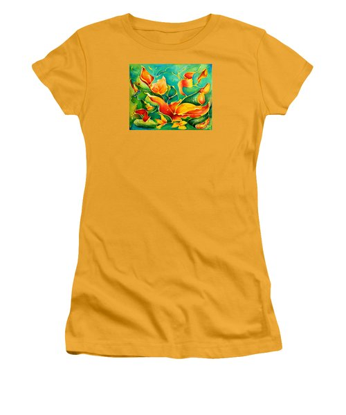 Garden Series No.3 Women's T-Shirt (Athletic Fit)