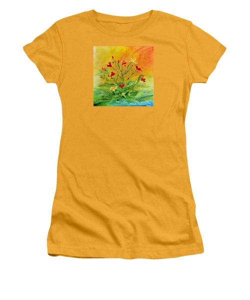 Gentle Women's T-Shirt (Junior Cut) by Teresa Wegrzyn