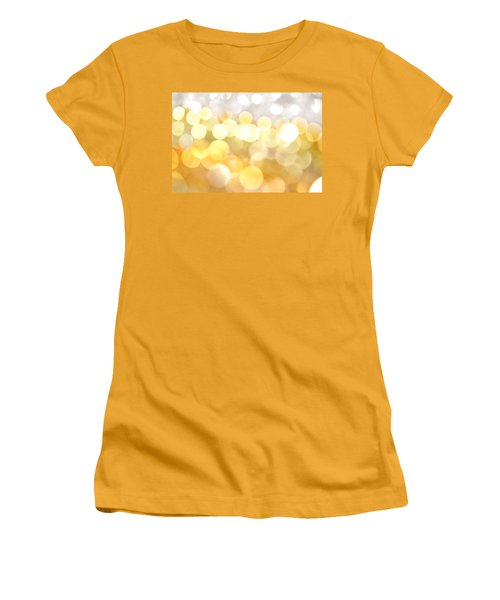 Gold On The Ceiling Women's T-Shirt (Junior Cut) by Dazzle Zazz