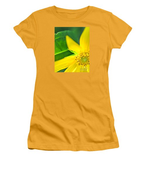Women's T-Shirt (Athletic Fit) featuring the photograph Good Cheer by David Perry Lawrence