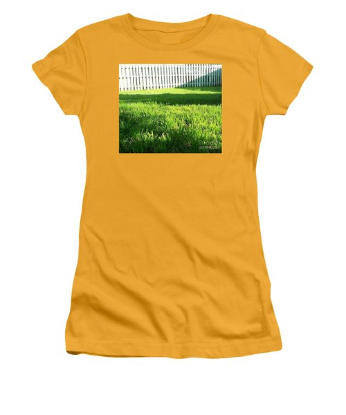 Grass Shadows Women's T-Shirt (Athletic Fit)