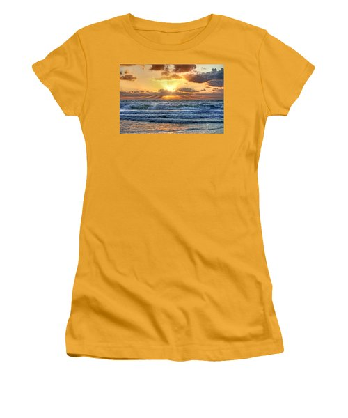 Gulf Waters Women's T-Shirt (Athletic Fit)
