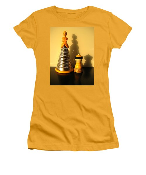 Happy Couple Women's T-Shirt (Junior Cut) by Leena Pekkalainen