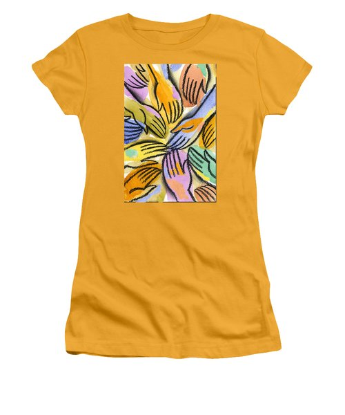 Multi-ethnic Harmony Women's T-Shirt (Athletic Fit)
