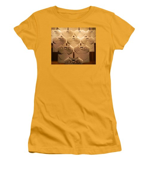 Louis Vuitton Window Display Women's T-Shirt (Athletic Fit)