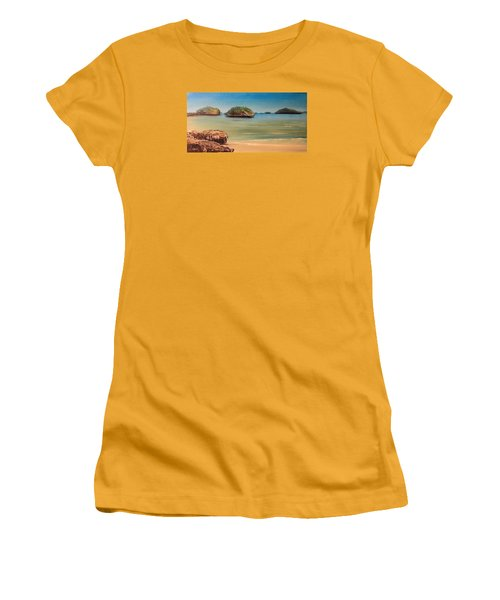 Hundred Islands In Philippines Women's T-Shirt (Athletic Fit)