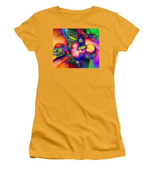 Women's T-Shirt (Junior Cut) featuring the digital art I Don't Think We're In Kansas Anymore by Casey Kotas