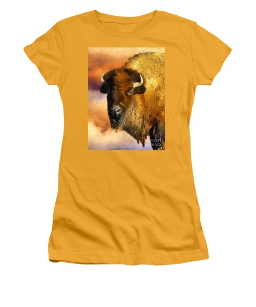 Icon Of The Plains Women's T-Shirt (Junior Cut) by RC deWinter