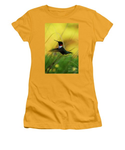 Just Flying Women's T-Shirt (Athletic Fit)