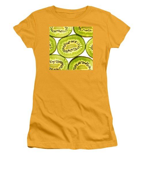 Kiwi Fruit IIi Women's T-Shirt (Junior Cut) by Paul Ge