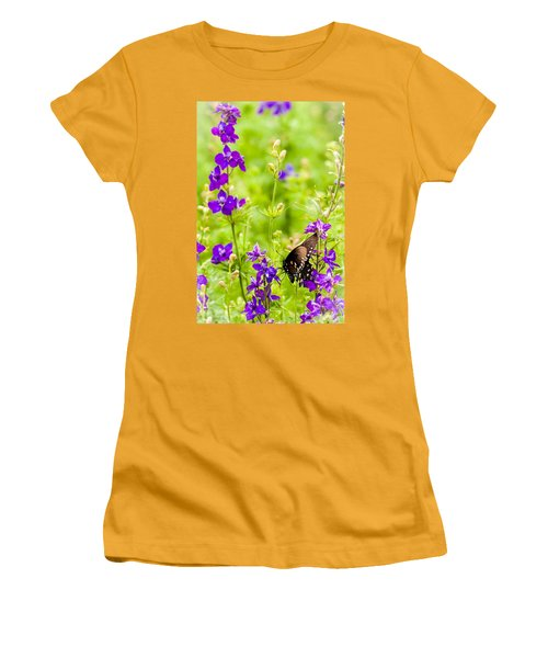 Larkspur Visitor Women's T-Shirt (Athletic Fit)