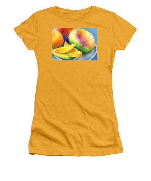 Last Mango In Paris Women's T-Shirt (Junior Cut) by Stephen Anderson