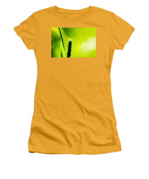 Let World Be Green Women's T-Shirt (Junior Cut) by Alexander Senin
