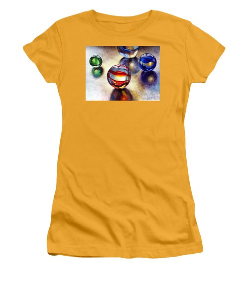 Marbles 2 Women's T-Shirt (Athletic Fit)