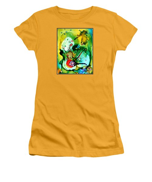 Marine Habitats Women's T-Shirt (Athletic Fit)