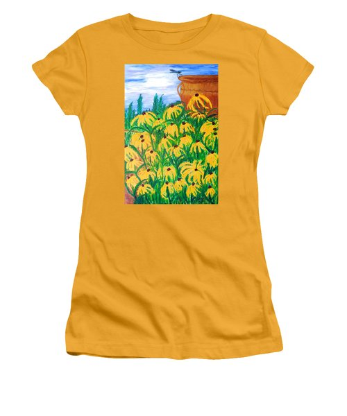 Moms Garden Women's T-Shirt (Athletic Fit)