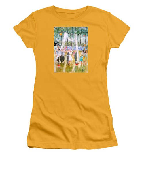 Mr. And Mrs. Matt Parker Women's T-Shirt (Junior Cut) by Gertrude Palmer