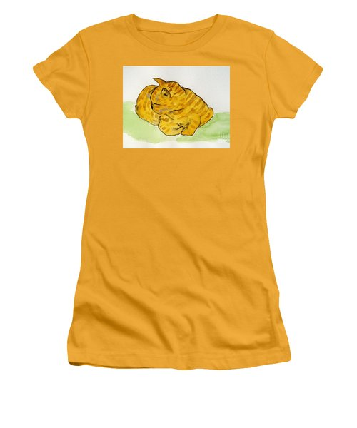 Mr. Yellow Women's T-Shirt (Junior Cut) by Reina Resto