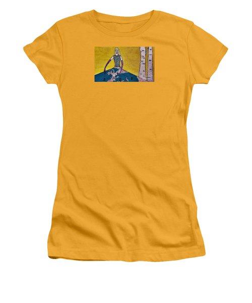 Music World By Jasna Gopic Women's T-Shirt (Junior Cut)